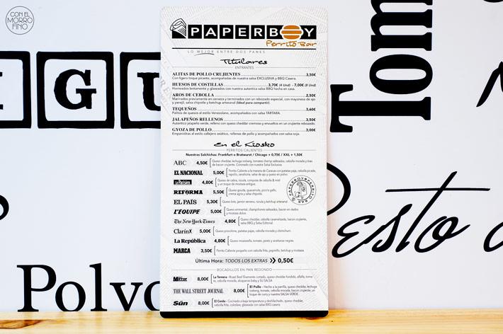 Paperboy Madrid 1