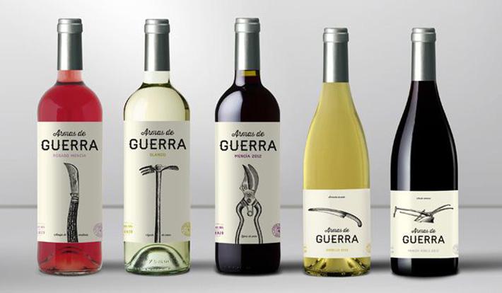 Etiqueta Vino Armas de Guerra 1