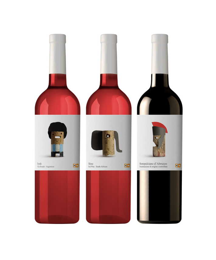 Etiqueta Vino Delhaize 2