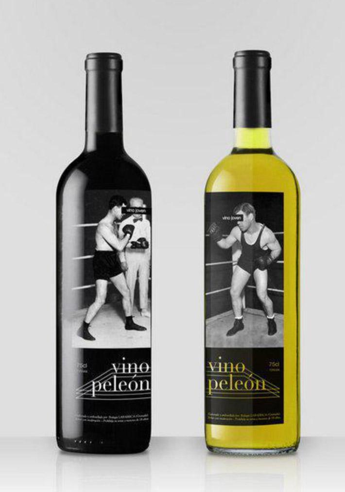 Etiqueta Vino Peleon 1