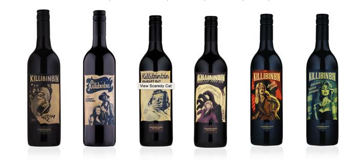 Etiqueta vino Killibinbin 2