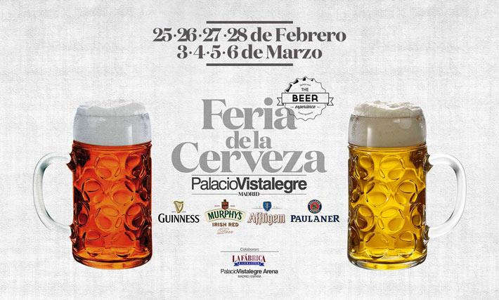 Feria de la cerveza Vistalegre Madrid