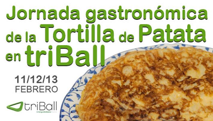 Jornada Gastronomica Tortilla Patata Triball