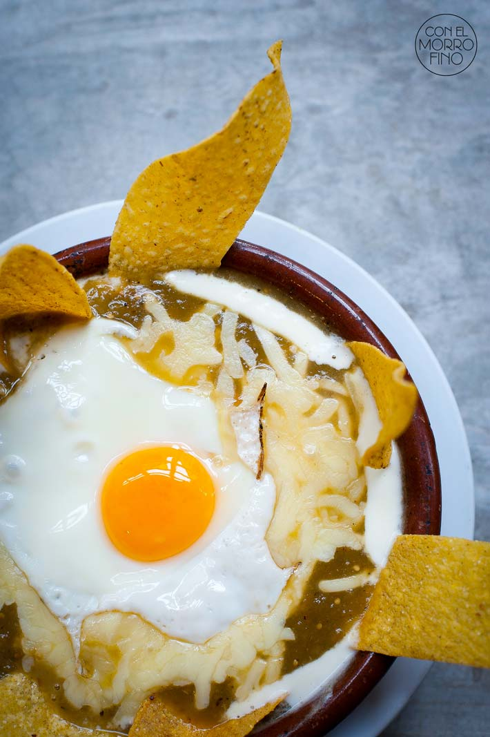 SlowMex Madrid Chilaquiles