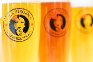 cervezas la virgen portada
