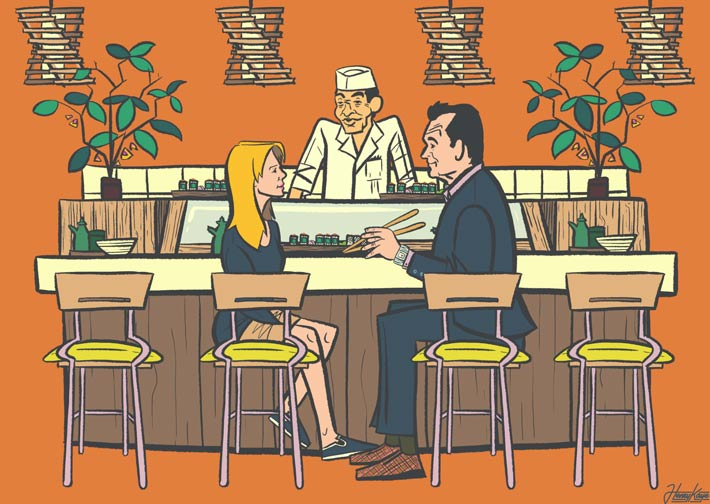 ilustradores gastronomicos henry kaye 2