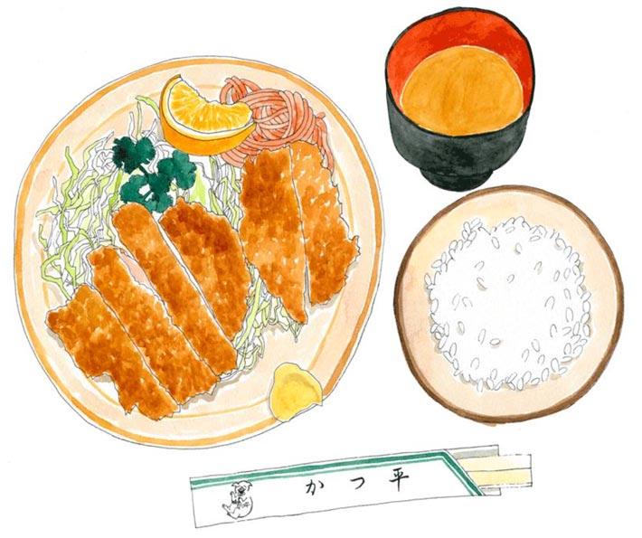 ilustradores gastronomicos natsuko 2