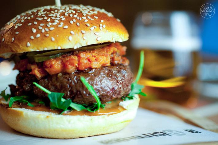 La Bistroteca Hamburguesa La Bacon