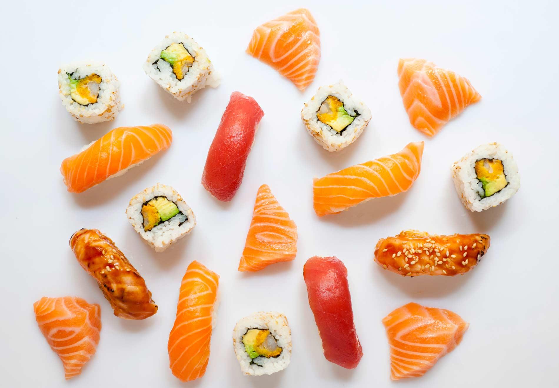 Sushis, makis, nigiris y demás comida japonesa a domicilio
