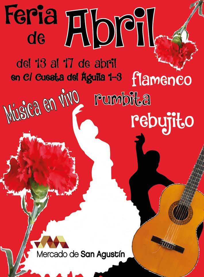 Feria Abril Mercado San Agustin
