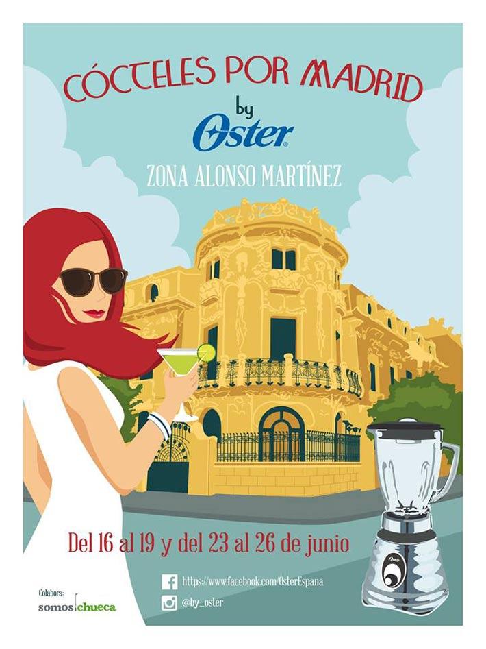 Cocteles Por Madrid Oster