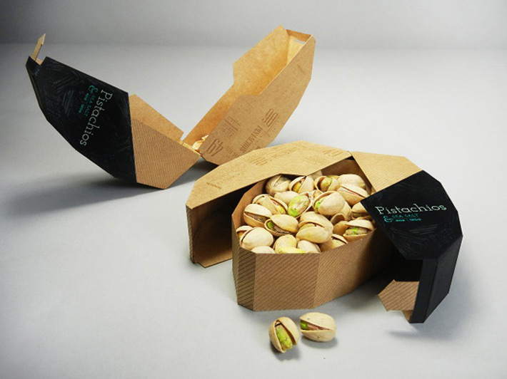 Packaging Gastronomico Pistachos