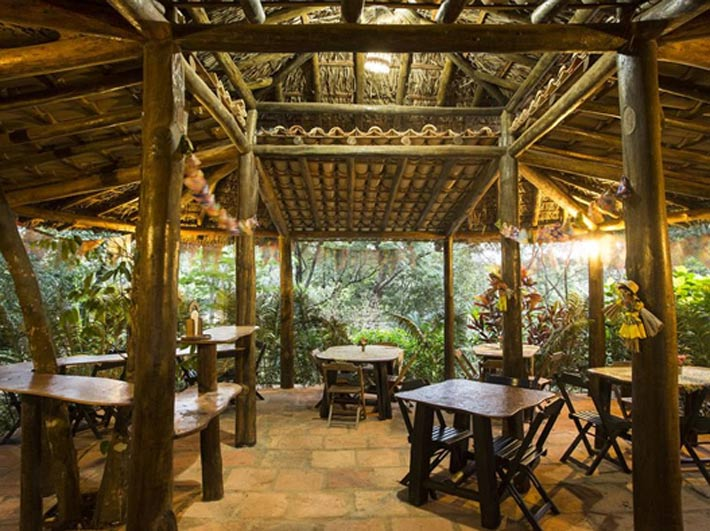 Restaurantes con vistas Canto No Bosque
