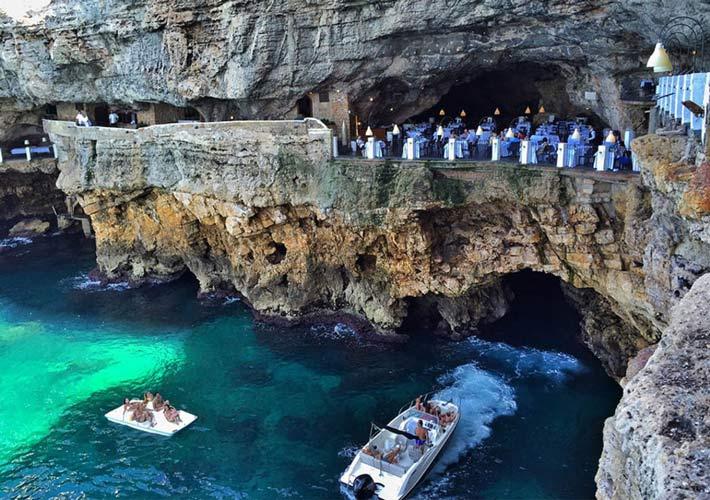 Restaurantes con vistas Grotta