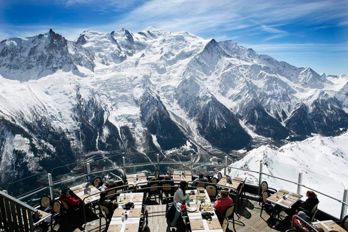 Restaurantes con vistas Le Panoramic