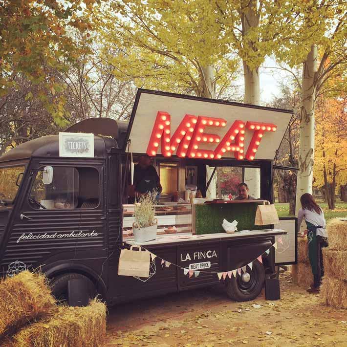 comete las ventas meat truck