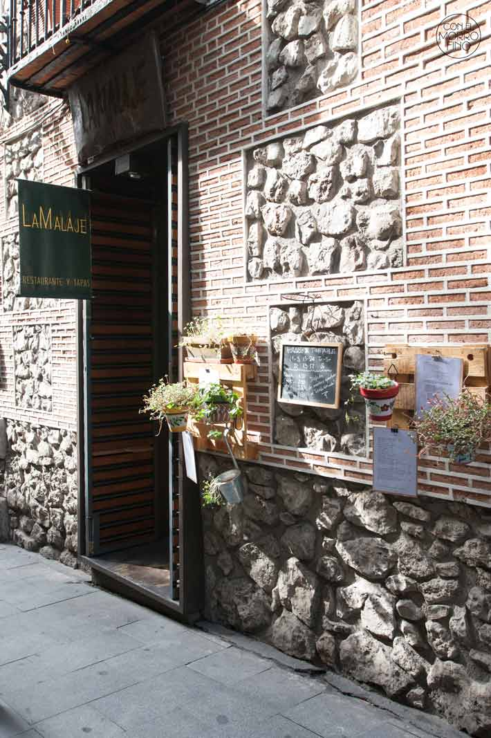 Restaurante La Malaje Madrid 11