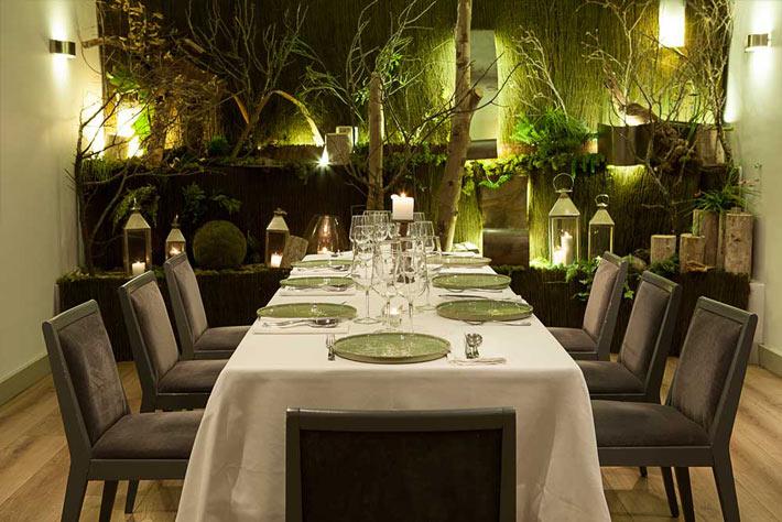 Restaurantes con estrella Michelin Madrid La Cabra