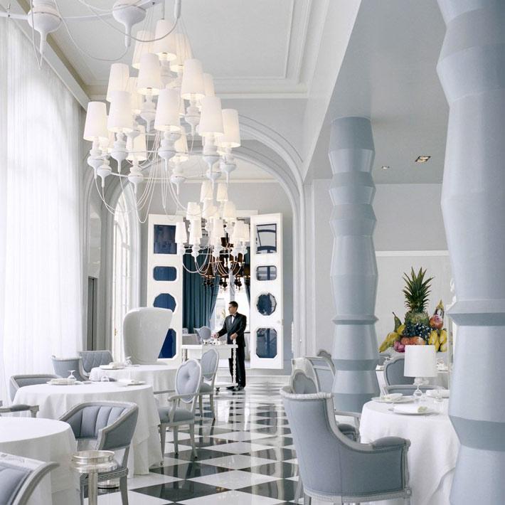 Restaurantes con estrella Michelin Madrid La Terraza del Casino