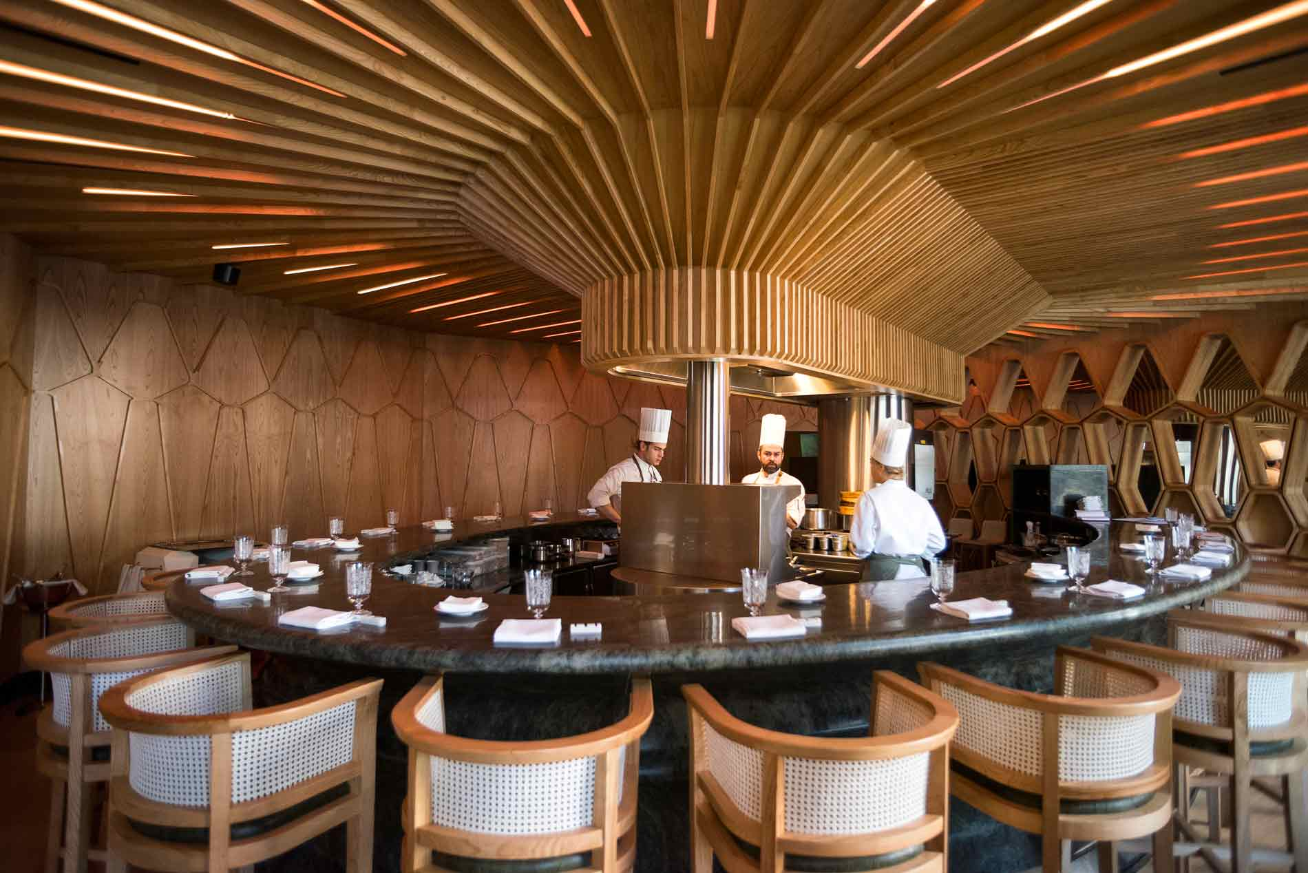 Restaurantes con estrella michel n en madrid con el - Restaurante sergi arola en madrid ...