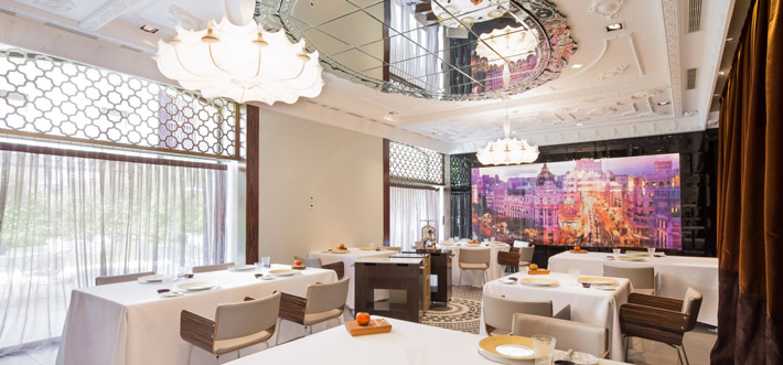 Restaurantes con estrella Michelin Madrid Ramon Freixa