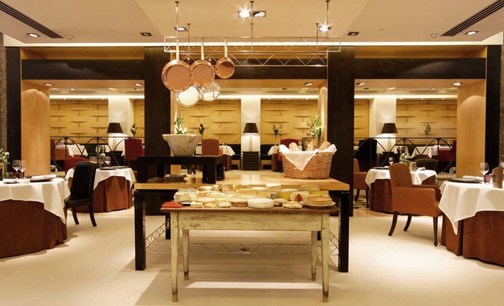Restaurantes con estrella Michelin Madrid Santceloni (via Viamichelin)