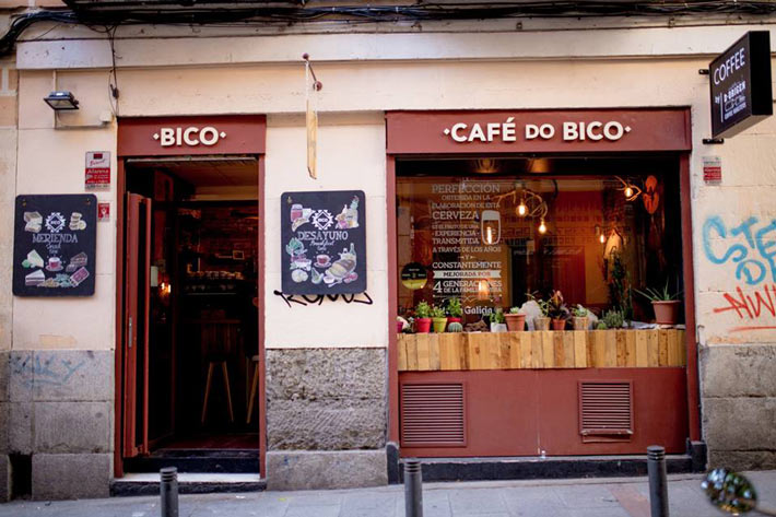desayunar en madrid cafe do bico