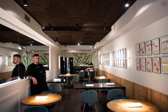 restaurantes con estrella michelin Madrid Gofio
