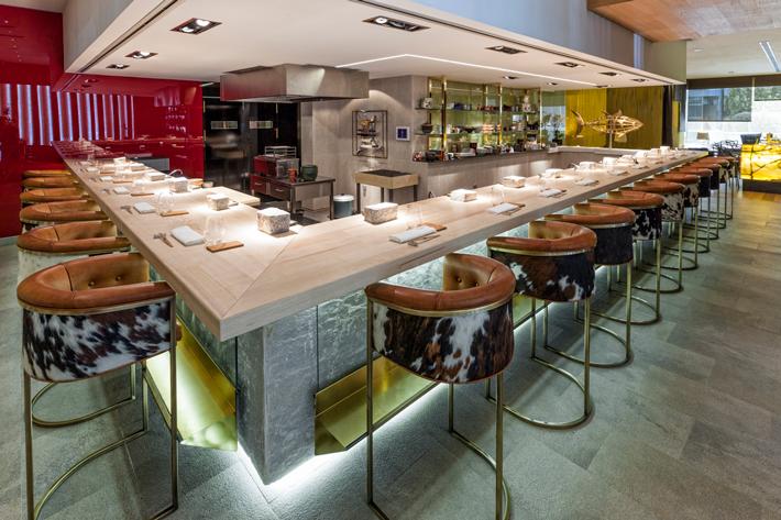 restaurantes con estrella michelin Madrid Ko 99 Sushi Bar