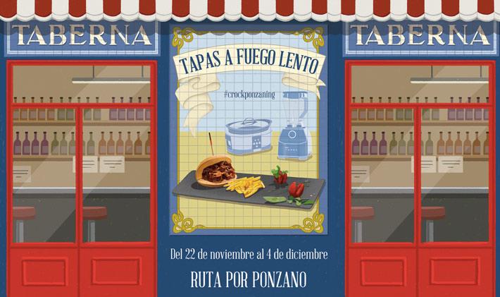 Agenda Gastronomica Madrid Tapas a fuego lento Ponzano
