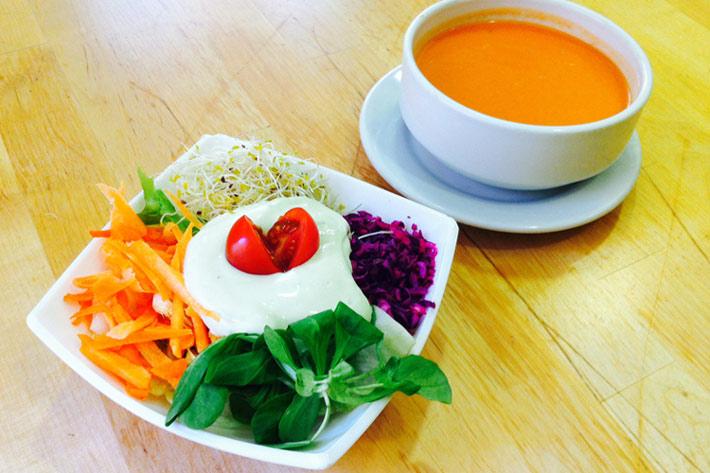 mejores restaurantes vegetarianos madrid la-biotika