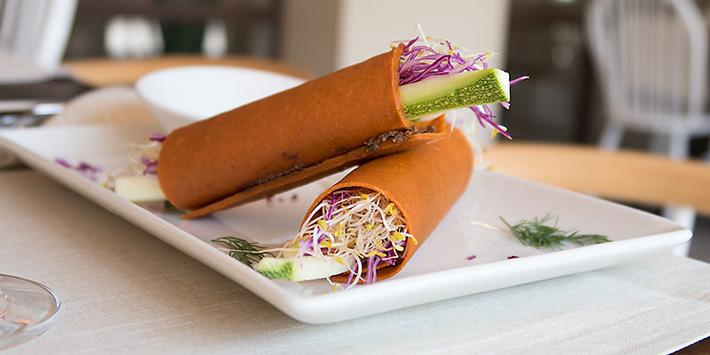 mejores restaurantes vegetarianos madrid level veggie bistró