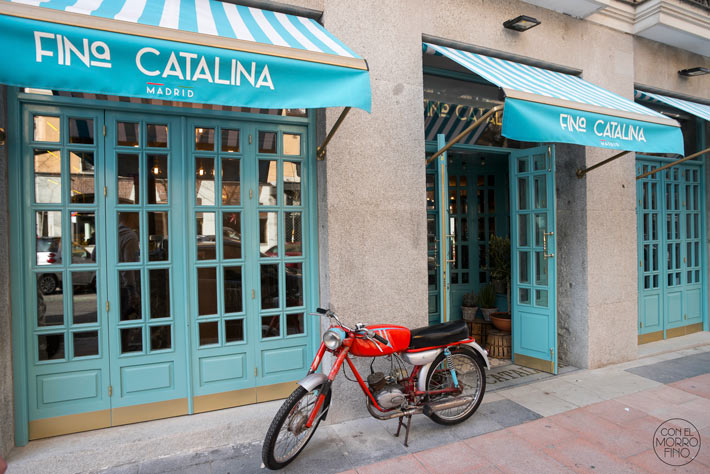 Fina Catalina Restaurante Italiano Madrid 12
