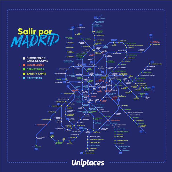 Salir por Madrid Metro