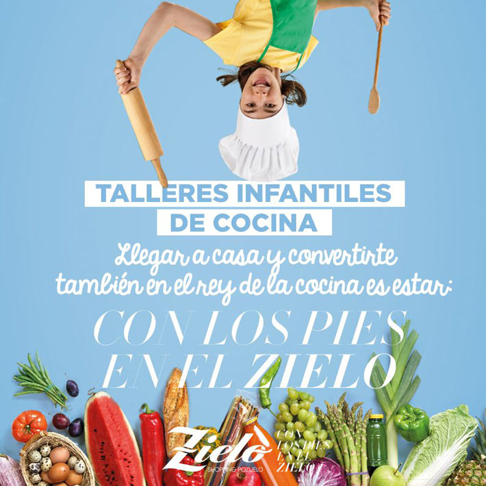 Talleres Infantiles cocina Zielo