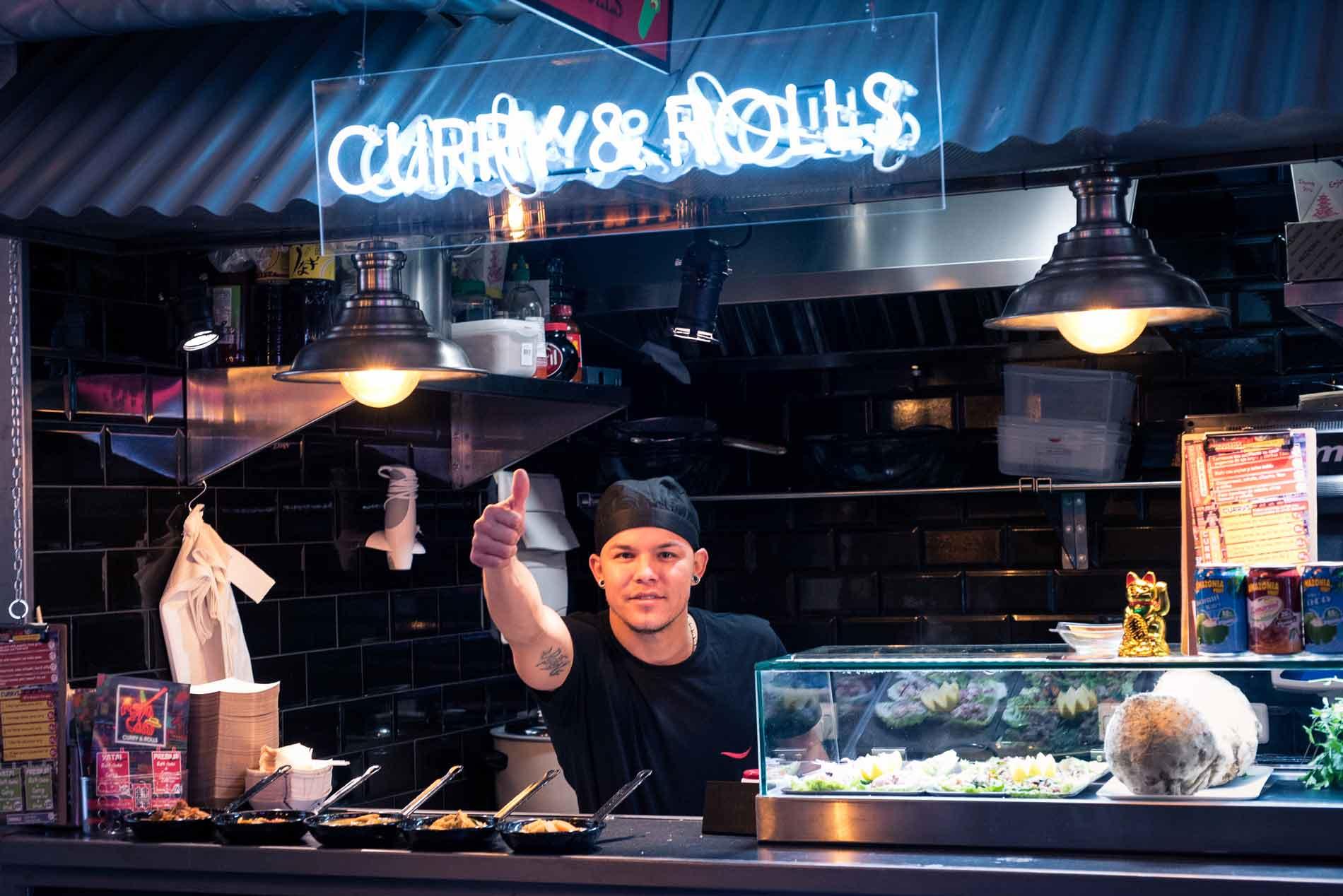 Yatai Market, street food asiática en pleno centro