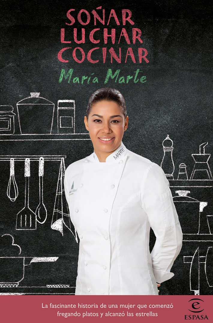 libros de chefs maria marte