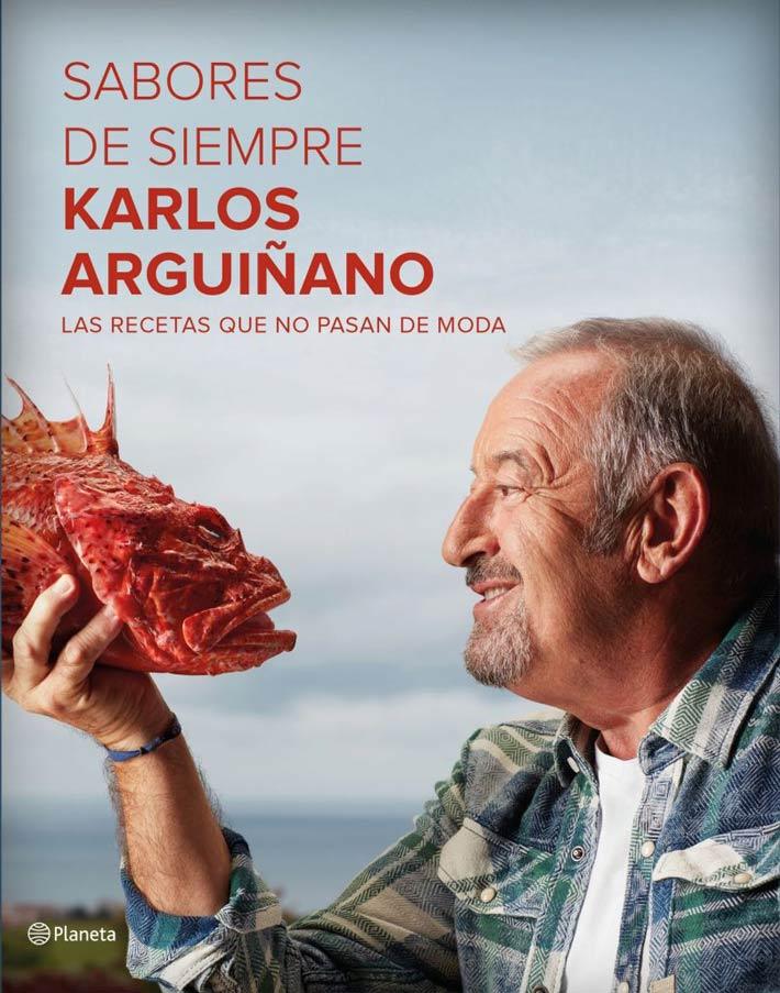 libros de chefs sabores de siempre karlos arguinano