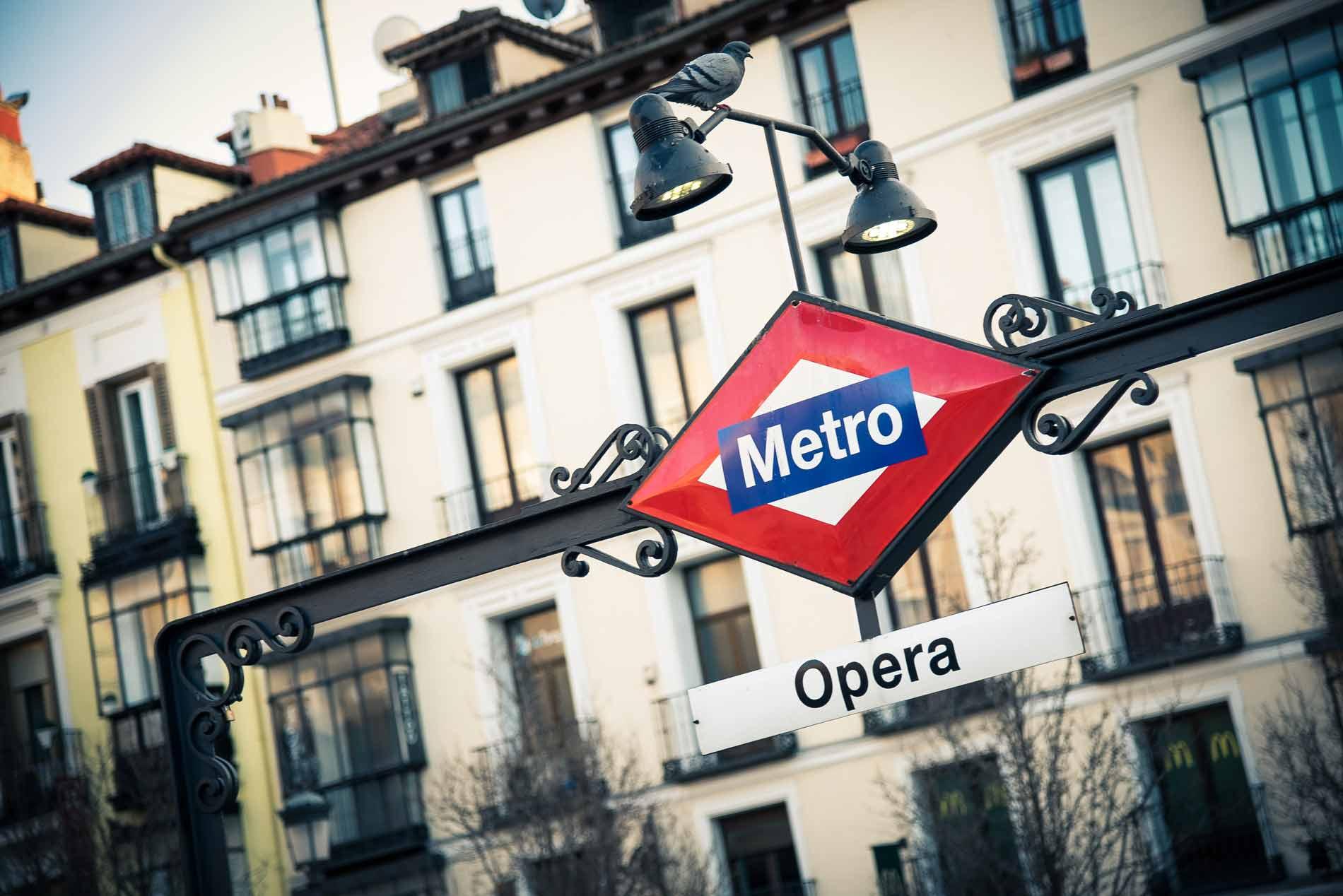 Guía para salir por Madrid, por estación de metro