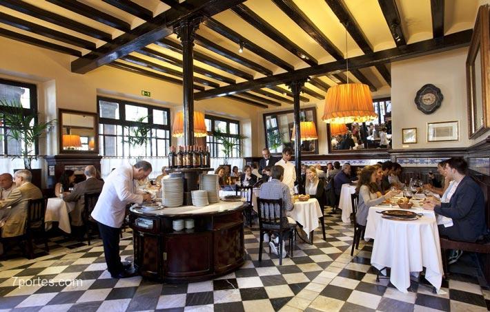 restaurantes antiguos 7 puertas