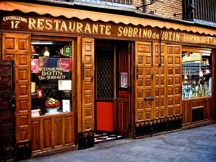 restaurantes antiguos botin