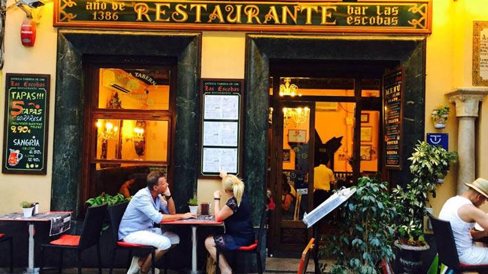 restaurantes antiguos las escobas