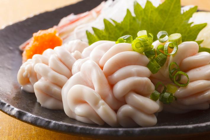 Alimentos raros Shirako