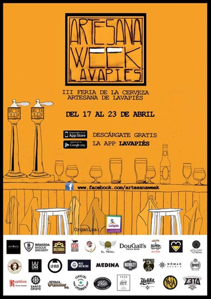 agenda gastronomica artesana week lavapies