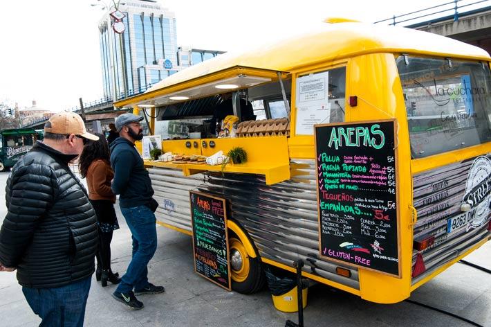Agenda gastronomica Madrid Expo Food Trucks