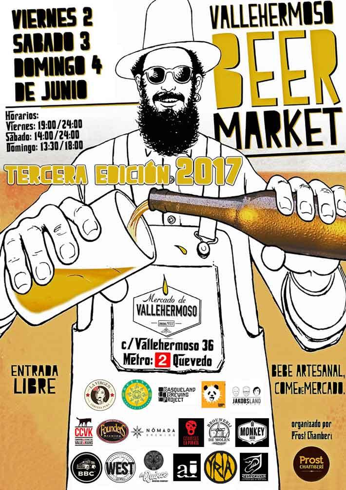 Agenda gastronomica Madrid Vallehermoso Beer Market