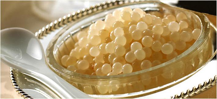 los productos mas caros del mundo caviar albino