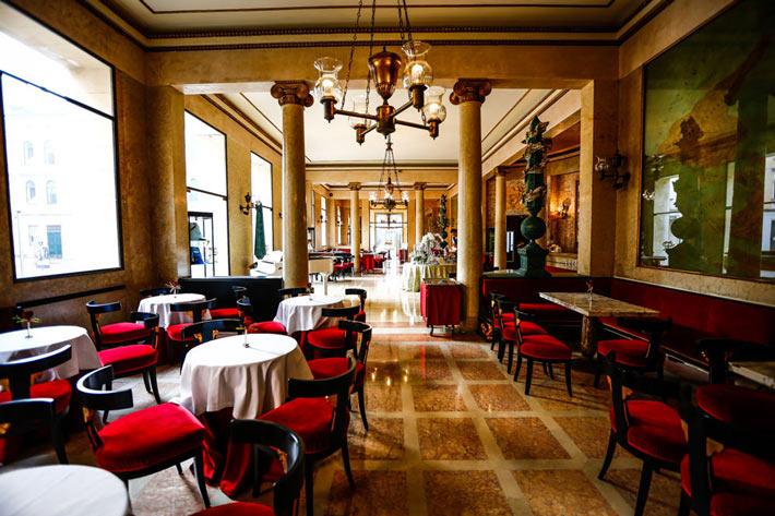 cafeterias del mundo caffe Pedrocchi
