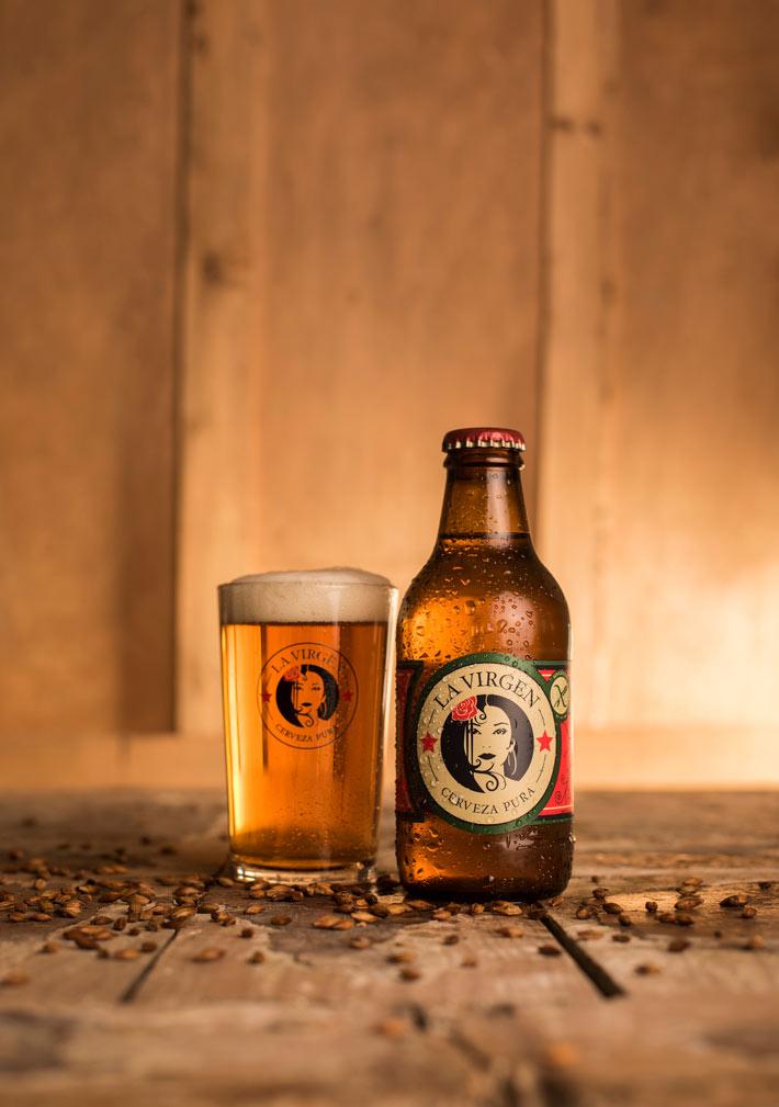 cervezas la virgen gluten free