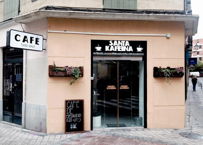 las mejores cafeterias de madrid santa kafeina